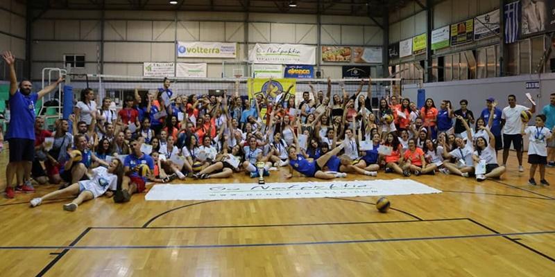 Διεθνές τουρνουά βόλεϊ στη Roccalumera της Σικελίας οι κορασίδες του ΑΟ ΑΚΡΙΤΑ 6