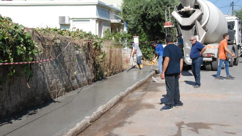 Κατασκευή και συντήρηση πεζοδρομίων στην Παραλία της Καλαμάτας 36