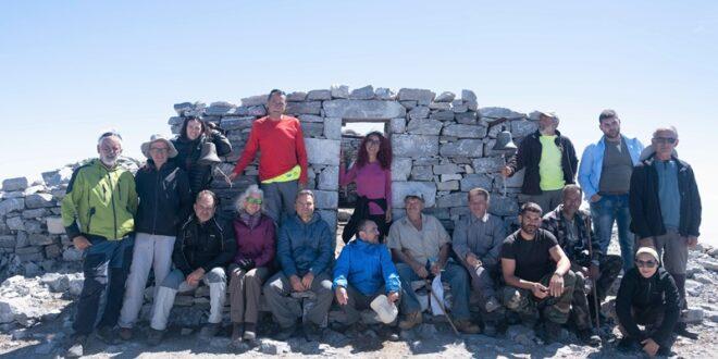Ε.Ο.Σ. Καλαμάτας Συντήρηση εκκλησίας Πρ. Ηλία Ταΰγέτου 2.407μ.