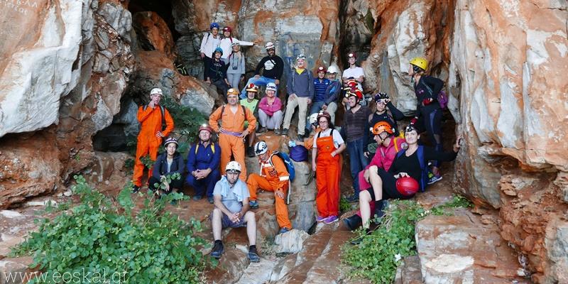 Ε.Ο.Σ. Καλαμάτας εξόρμηση στο σπήλαιο Καταφύγι Σελίνιτσας 1