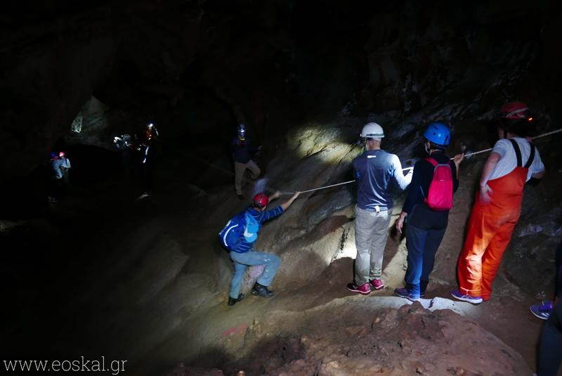 Ε.Ο.Σ. Καλαμάτας εξόρμηση στο σπήλαιο Καταφύγι Σελίνιτσας