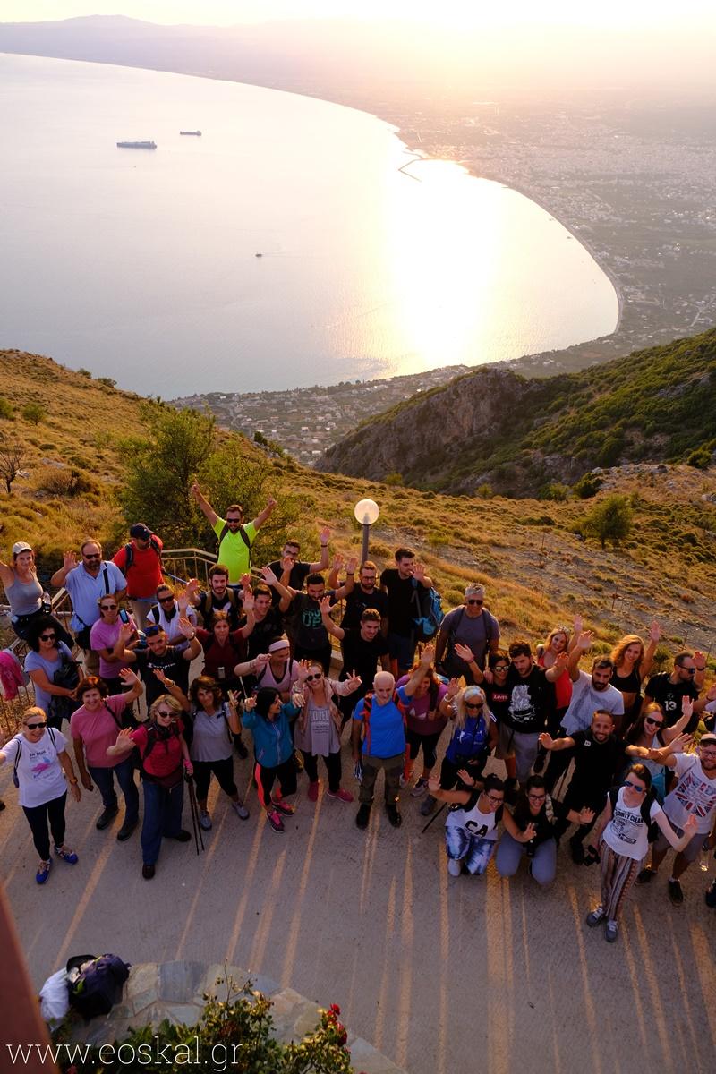 Ορειβατικού Καλαμάτας στο Καλάθι