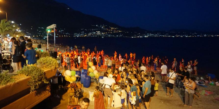 Με επιτυχία η περιβαλλοντική εκδήλωση δίπλα στη θάλασσα από τα ΚΔΑΠ Καλαμάτας 1