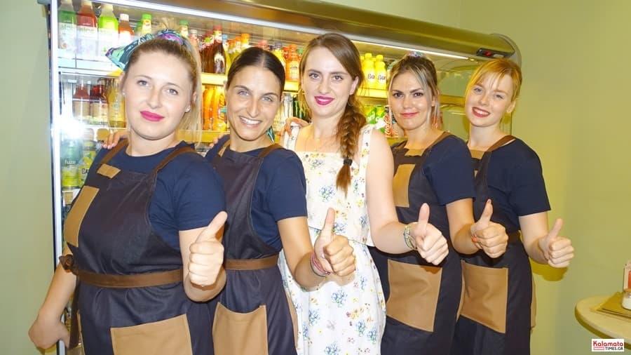 Καλαμάτα: Το προσωπικό από το καφέ Μαυροειδης με νέα εμφάνιση 13