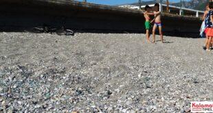 παραλίες της Καλαμάτας