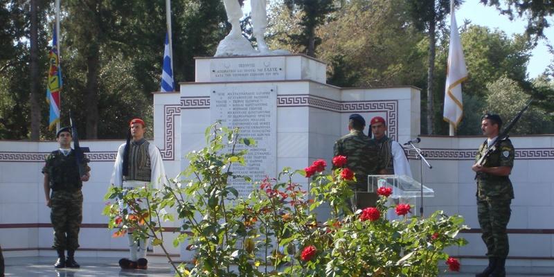 ΠΑΜΕ ΒΟΛΤΑ στις προτομές των πεσόντων και αγνοουμένων της Κύπρου 11