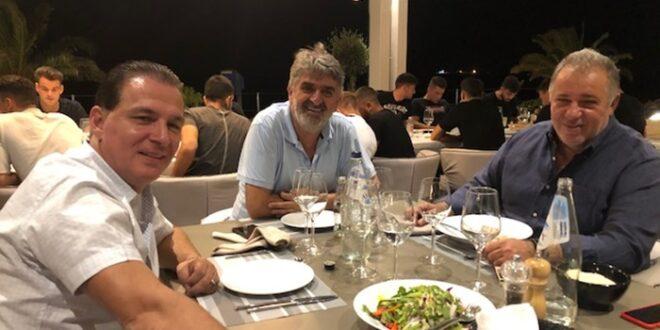 Ήρθε ο νέος πρόεδρος της ΠΣ Η Καλαμάτα Γιώργος Πρασσάς
