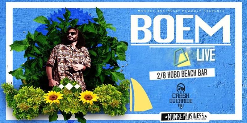 Ο Boem live στο Hobo Beach Bar την Παρασκευή 2 Αυγούστου 1