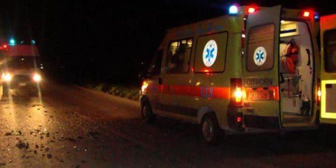 Σκοτώθηκε 36χρονη συνεπιβάτης μηχανής στους Γαργαλιάνους