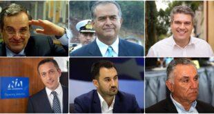 Οι βουλευτές που προηγούνται σε ψήφους στην Μεσσηνία