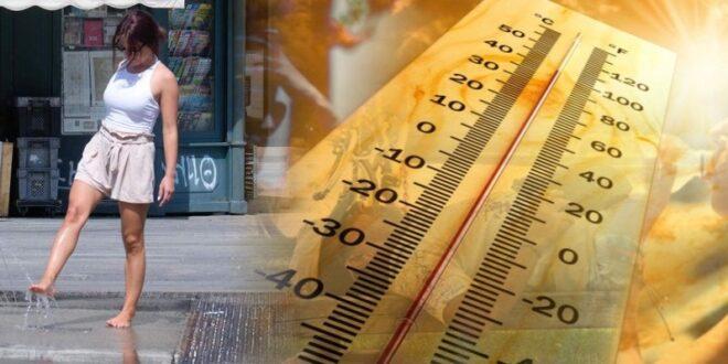 Τριήμερη θερμή εισβολή καύσωνα με 40-41 βαθμούς
