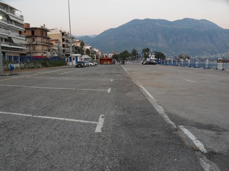Ξανά λειτουργεί το δωρεάν πάρκινγκ στο λιμάνι της Καλαμάτας 2
