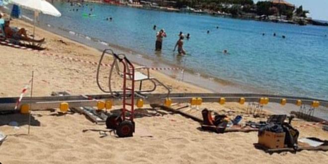 Η παραλία της Στούπας έγινε προσβάσιμη σε ΑμεΑ 1