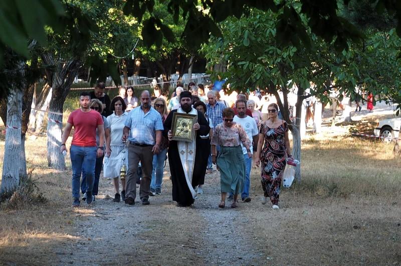 Ο Εσπερινός Κοιμ. της Θεοτόκου στην Ι. Μητρόπολη Μεσσηνίας 2