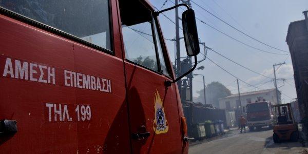 Ηλεία: Συμπλοκή πυροσβεστών με φερόμενο ως εμπρηστή - Προκλήθηκε τροχαίο 10