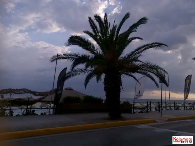 Καλοκαιρινή βροχή στην Καλαμάτα