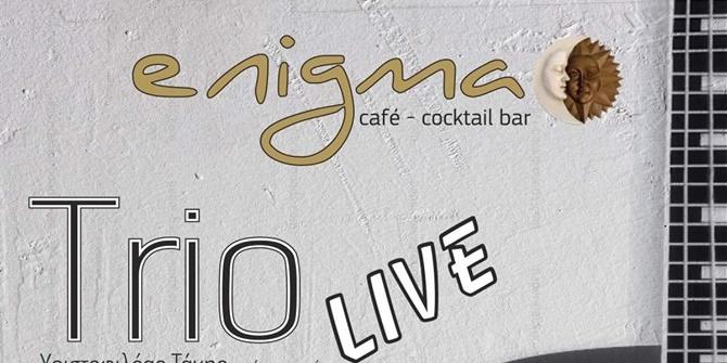 Trio live στο Enigma cafe Bar με ελληνικό έντεχνο και classic Rock 28
