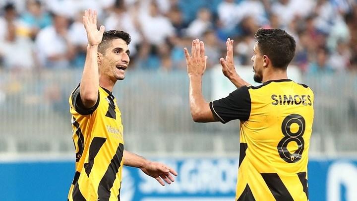 Επαγγελματική νίκη η ΑΕΚ 2‑0 την Κραϊόβα στη Ρουμανία 1