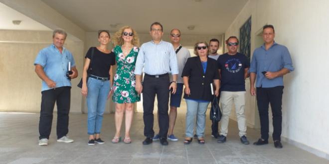 Ο νέος δήμαρχος Καλαμάτας Θανάσης Βασιλόπουλος στο μουσικό σχολείο