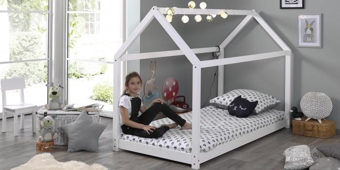 """max-kids προσφορά! Παιδικό κρεβάτι σπιτάκι """"cabane"""" 1"""
