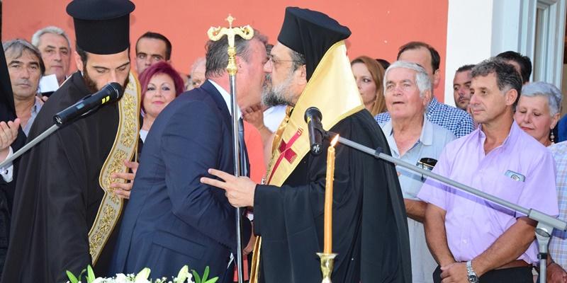 Ο Μητροπολίτης Μεσσηνίας όρκισε το νέο Δήμαρχο Πύλου - Νέστορος Παναγιώτη Καρβέλα 10