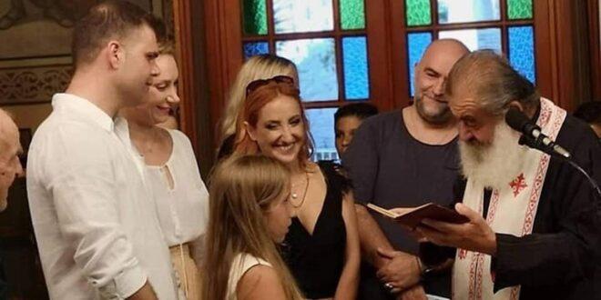 Στόκας-Ψυχίδου: Βάφτισαν την 9χρονη κόρης τους στην Κορώνη! (Photos)