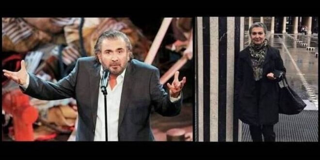 Λάκης Λαζόπουλος το ευχαριστώ μετά την κηδεία της γυναίκας του