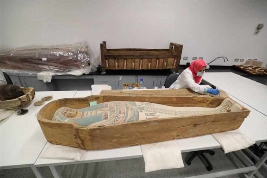Εντυπωσιάζει η σαρκοφάγος του Τουταγχαμών στην Αίγυπτο 1