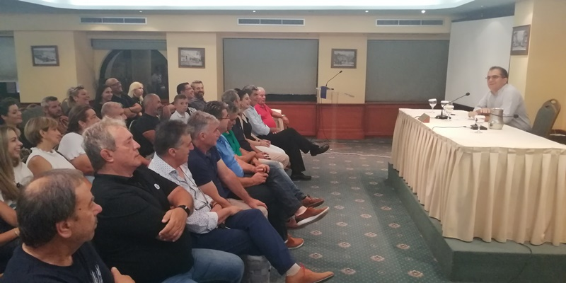 Θανάσης Βασιλόπουλος σε συνάντηση του συνδυασμού του «Πρέπει να προσφέρουμε τα μέγιστα» 5