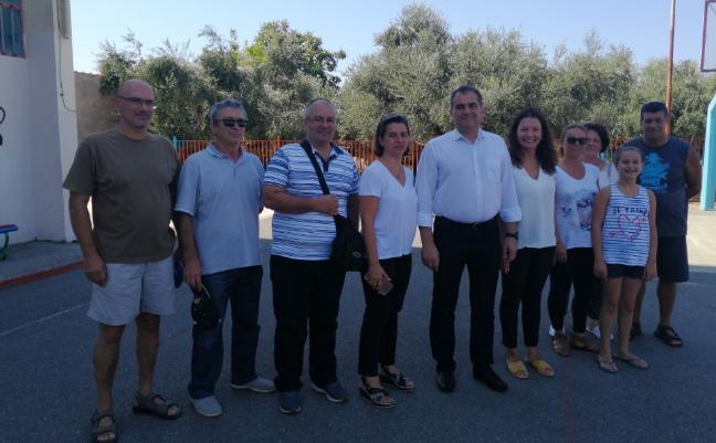 Το πιο όμορφο σχολείο της Καλαμάτας επισκέφτηκε ο Θανάσης Βασιλόπουλος 3