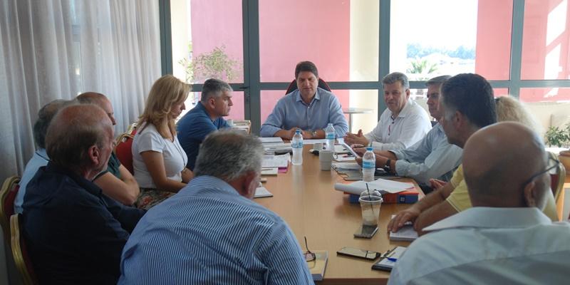 Σύσκεψη Αθανασοπουλου με τον Στάθη Αναστασόπουλο για τον δήμο Μεσσήνης 13