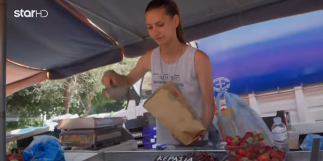 GNTM 2 Ενθουσιάστηκαν με την αγρότισσα που πουλάει μήλα στις λαϊκές