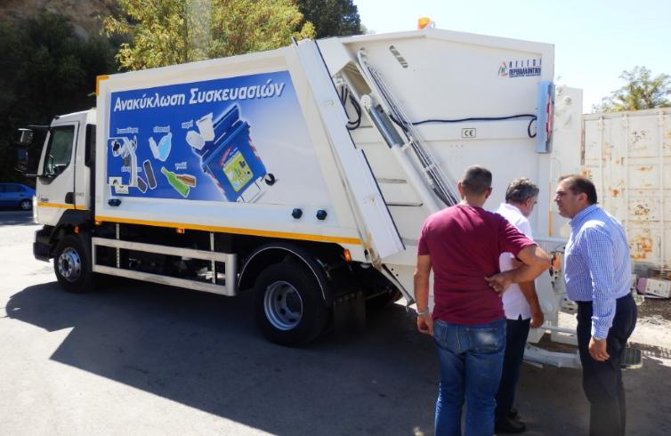 Ενίσχυση της ανακύκλωσης στον Δήμο Καλαμάτας, με νέο απορριμματοφόρο και δεκάδες κάδους 2
