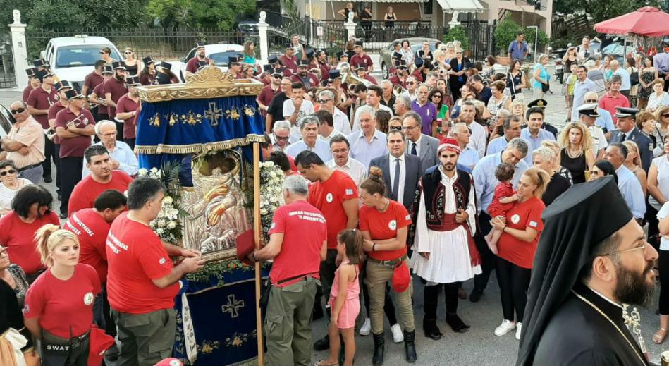Η θαυματουργή εικόνα της Παναγίας της Δήμιοβας, φιλοξενείται στα Γιαννιτσάνικα 3