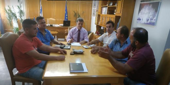 Συναντήσεις Αναστασόπουλου με κατοίκους τοπικών κοινοτήτων για προβλήματα και αντιπλημμυρικά έργα