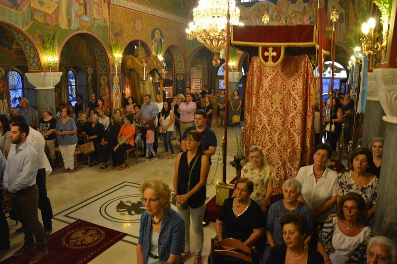 Πολυαρχιερατικός Εσπερινός για την Παναγία Μυρτιδιώτισσα στην Πύλο 6