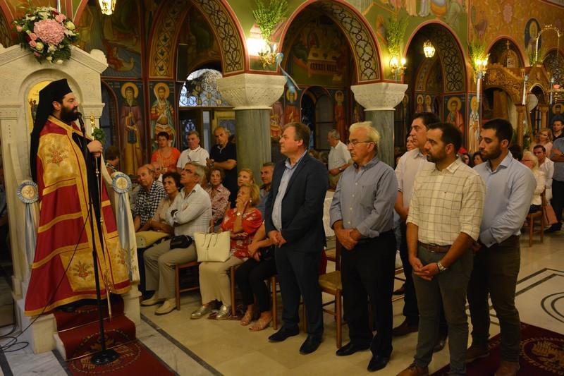Πολυαρχιερατικός Εσπερινός για την Παναγία Μυρτιδιώτισσα στην Πύλο 3