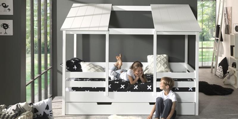 Παιδικό κρεβάτι σπιτάκι από τα max-kids 6