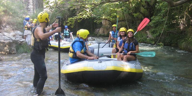 Rafting στον Λούσιο ποταμό για τους λάτρεις της φύσης του Ευκλή. 1