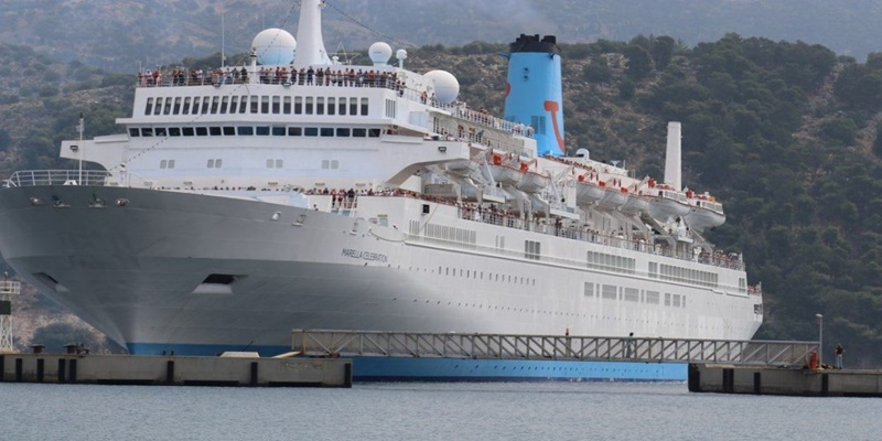 """Το κρουαζιερόπλοιο """"Marella Celebration"""" με 1753 επιβάτες, τη Δευτέρα στην Καλαμάτα 1"""