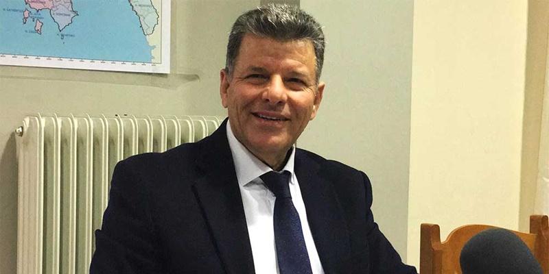 Στάθης Αναστασόπουλος: Επίσκεψη στο  συνεργείο μηχανημάτων έργου της Π.Ε. Μεσσηνίας 1