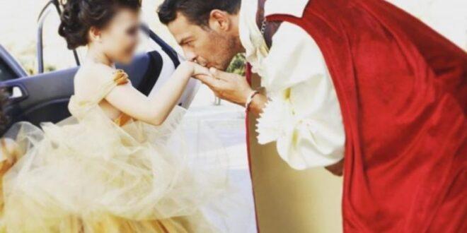 Γιώργος Αγγελόπουλος: Ντύθηκε πρίγκιπας και εκπλήρωσε την ευχή της μικρής Ελένης