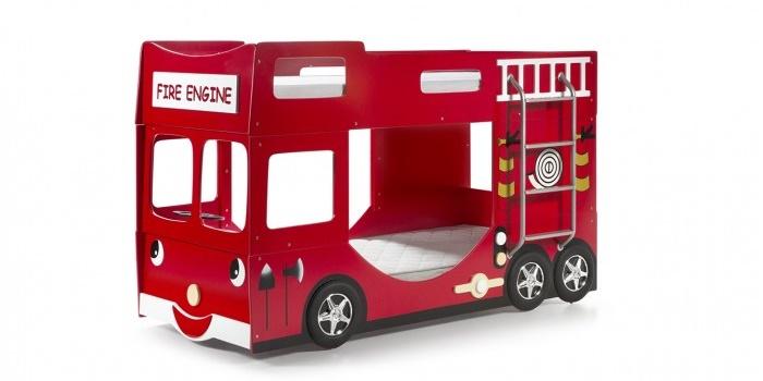 Παιδική κουκέτα πυροσβεστικό όχημα θα ζωντανεύει την φαντασία του μικρού σας ήρωα 2
