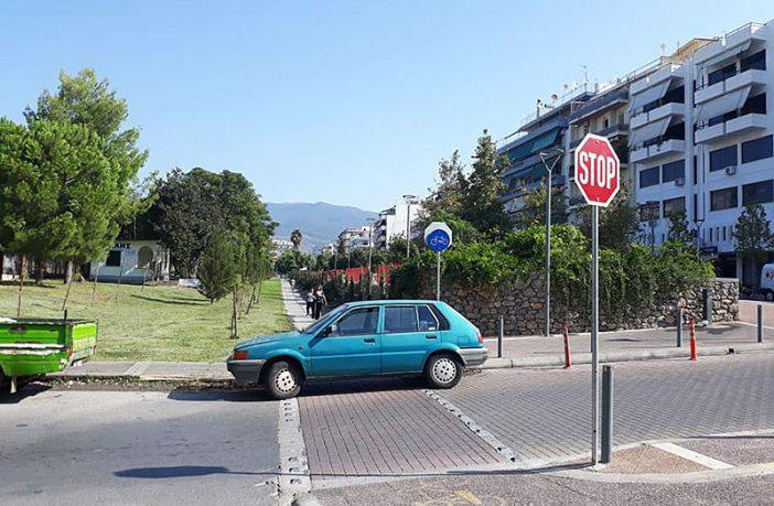Γιατί στην Καλαμάτα… παρκάρω όπου γουστάρω! 1