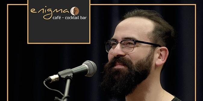 Ο δεξιοτέχνης της λύρας Πέτρος Σαριδάκης  LIVE στο Enigma Café Bar 29