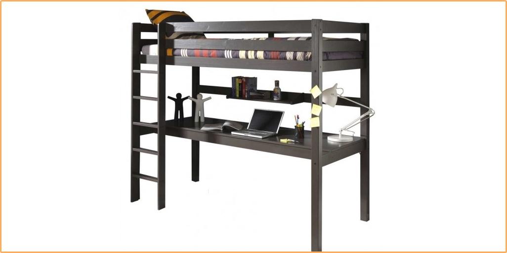 max-kids για το παιδικό δωμάτιο: Υπερυψωμένο κρεβάτι με συρόμενο γραφείο 5