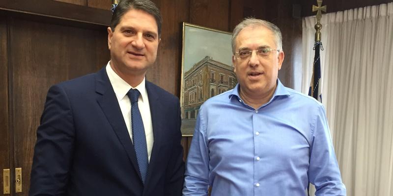 Συνάντηση του Δημάρχου Μεσσήνης Γιώργου Αθανασόπουλου με τον Υπουργό Εσωτερικών Τάκη Θεοδωρικάκο 17
