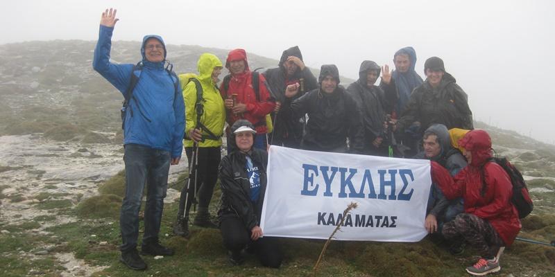 Στην Ξεροβούνα Ταϋγέτου εξόρμησαν οι ορειβάτες του Ευκλή 12