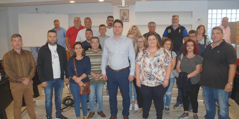 Ορκωμοσία 20 νέων υπαλλήλων στον δήμο Μεσσήνης 1