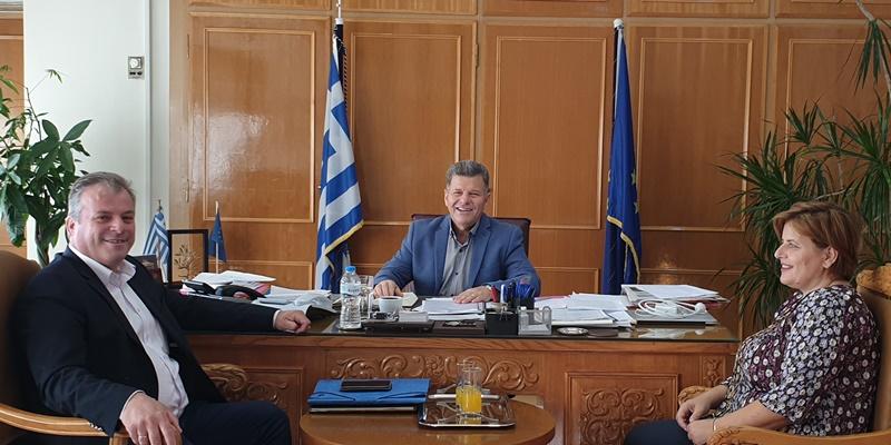 Συνάντηση Αναστασόπουλου με τον δήμαρχο Πύλου - Νέστορος 4